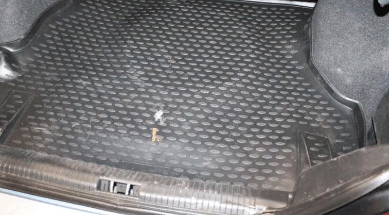 коврик в багажник нексия