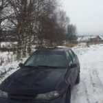 нексия зимой фото