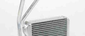 замена радиатора печки на нексии